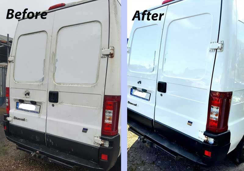Commercial Vehicle Valeting